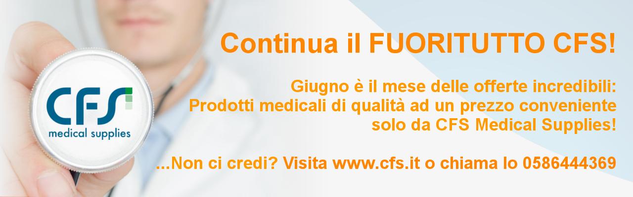 Continua il FUORITUTTO CFS per il mese di giugno!